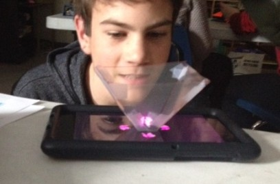 Cell Phone Holograms