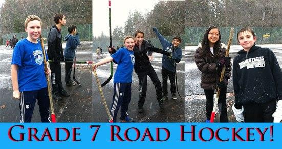 road-hockey