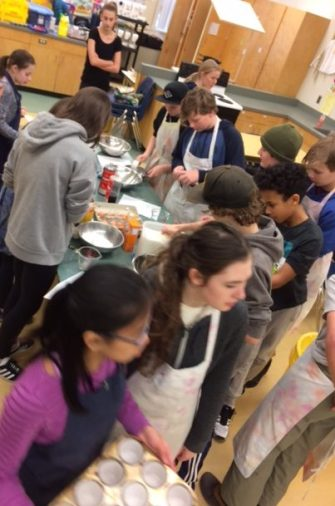 Learning Food Safe and using measurement skills