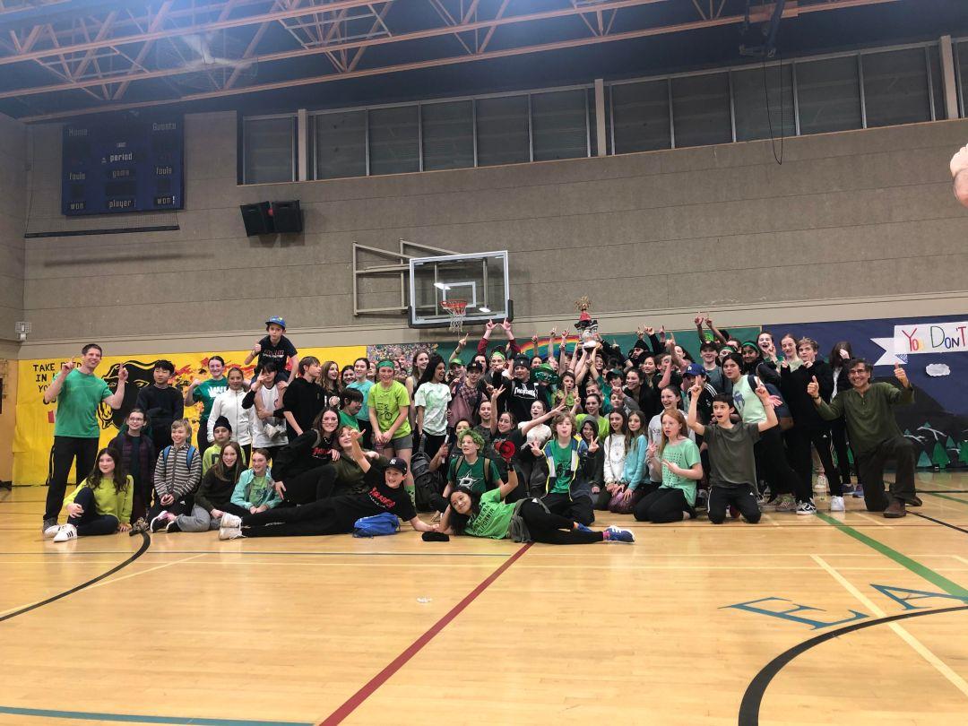 green winners